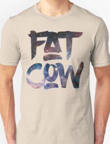 Fat Cow Logo - Space Unisex T-Shirt