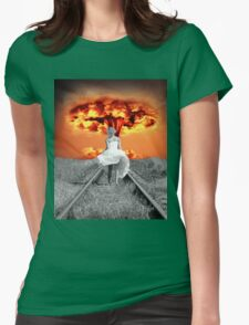 The Beautiful Silhouette Womens Fitted T-Shirt