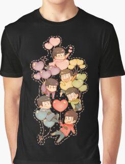 Osomatsu San Graphic T-Shirt
