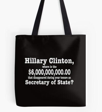 Anti-Hillary gear Tote Bag