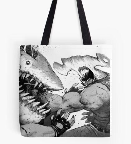 FISH FIGHT! Tote Bag