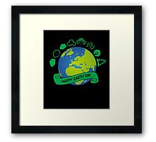 Happy Earth Day Everyday Framed Print