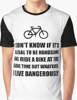 Handsome Ride Bike Graphic T-Shirt