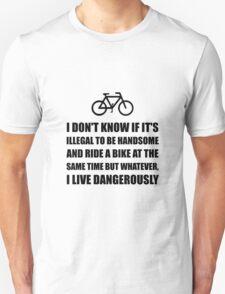 Handsome Ride Bike T-Shirt