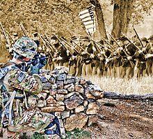 HDR Jarhead vs Sepia Civil War by GolemAura