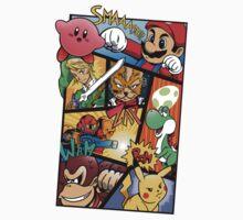 Dairanto Smash Bros One Piece - Short Sleeve