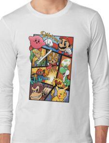 Dairanto Smash Bros Long Sleeve T-Shirt