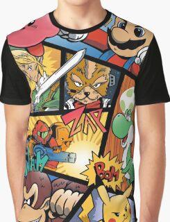 Dairanto Smash Bros Graphic T-Shirt