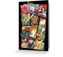 Dairanto Smash Bros Greeting Card