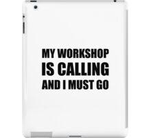 Workshop Calling iPad Case/Skin
