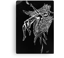 Icarus Falling Canvas Print