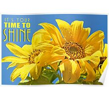 It's Your Time to SHINE Poster