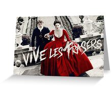 Vive les Frasers - Outlander Greeting Card