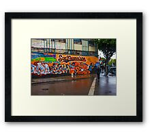 SF 2012 World Series Champs Framed Print