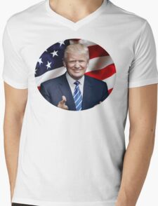 Donald J. Trump - Make America Great Again Mens V-Neck T-Shirt