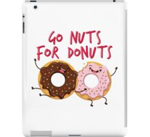 Go Nuts For Donuts iPad Case/Skin