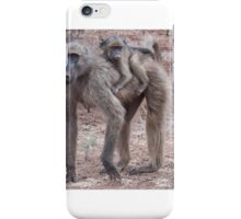 Baboons iPhone Case/Skin