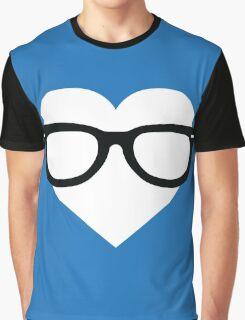 Geeky heart Graphic T-Shirt