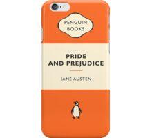Pride and Prejudice Penguin Cover iPhone Case/Skin
