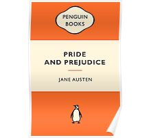 Pride and Prejudice Penguin Cover Poster