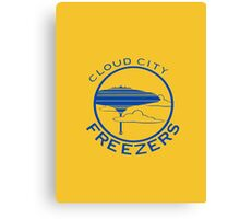 Cloud City Freezers Alternate - Star Wars Sports Teams Canvas Print