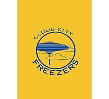 Cloud City Freezers Alternate - Star Wars Sports Teams Photographic Print