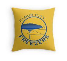 Cloud City Freezers Alternate - Star Wars Sports Teams Throw Pillow