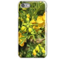 Yellow Flowers on a Bush iPhone Case/Skin