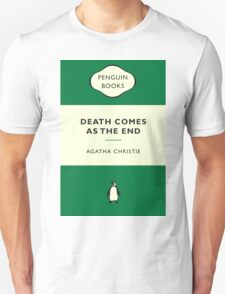Death Comes as the End Penguin Cover T-Shirt