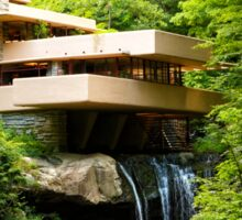 """Dreaming of Fallingwater""  Sticker"