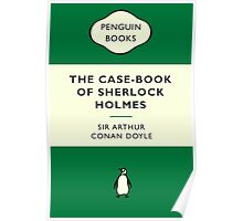 The Case-Book of Sherlock Holmes Penguin Cover Poster