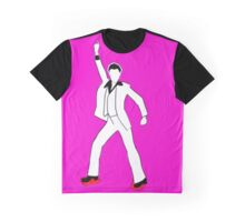 Saturday Night Fever- John Travolta Disco Graphic T-Shirt