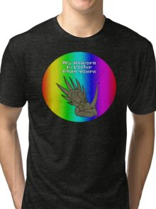 My Unicorn is Cooler Than Yours Tri-blend T-Shirt