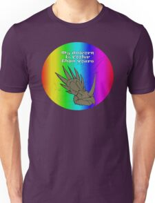 My Unicorn is Cooler Than Yours Unisex T-Shirt