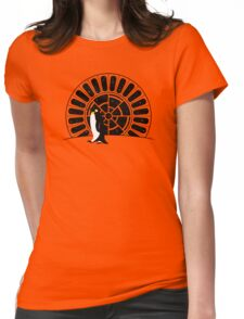 The Emperor (Penguin) Womens Fitted T-Shirt