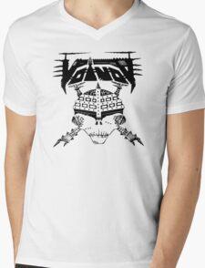 VOIVOD BLACK SKULL Mens V-Neck T-Shirt