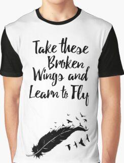 Broken Wings Graphic T-Shirt