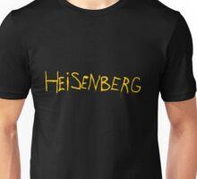 My name is Heisenberg - Graffiti Breaking Bad Unisex T-Shirt