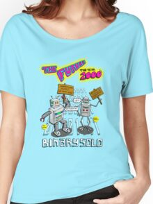 Flight of the Conchords - Binary Solo - Robots 2 Women's Relaxed Fit T-Shirt