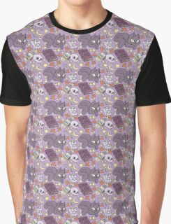 Witchy Pattern Graphic T-Shirt
