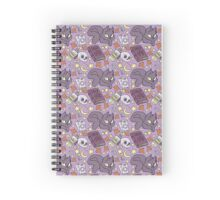 Witchy Pattern Spiral Notebook