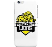 STATE UNIVERSITY LIONS iPhone Case/Skin