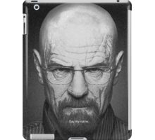 SAY MY NAME iPad Case/Skin