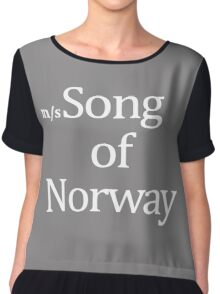 Worn By David Bowie Song Of Norway Women's Chiffon Top