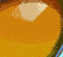 Pixel Mango  Sticker