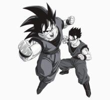 Goku and Gohan Kids Tee