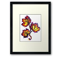 Leaves of Autumn Framed Print