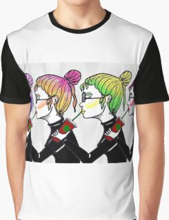 Drink Girl Graphic T-Shirt