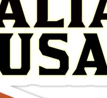 Italian Food, I love Italian Sausage Merchandise, Italy Sticker