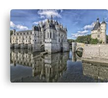 Castle on Water Canvas Print